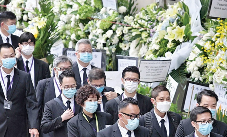 Stanley Ho funeral procession to take place today