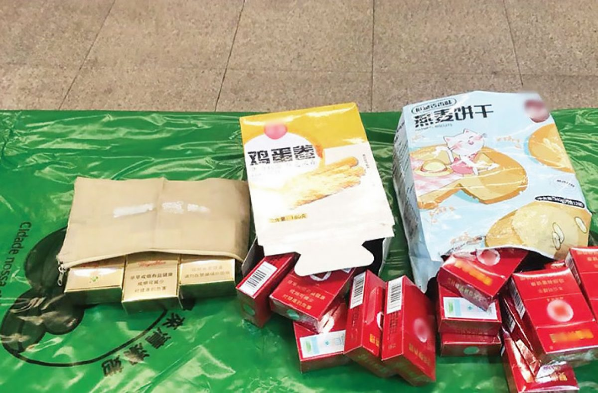 2 locals nabbed for smuggling cigs from mainland