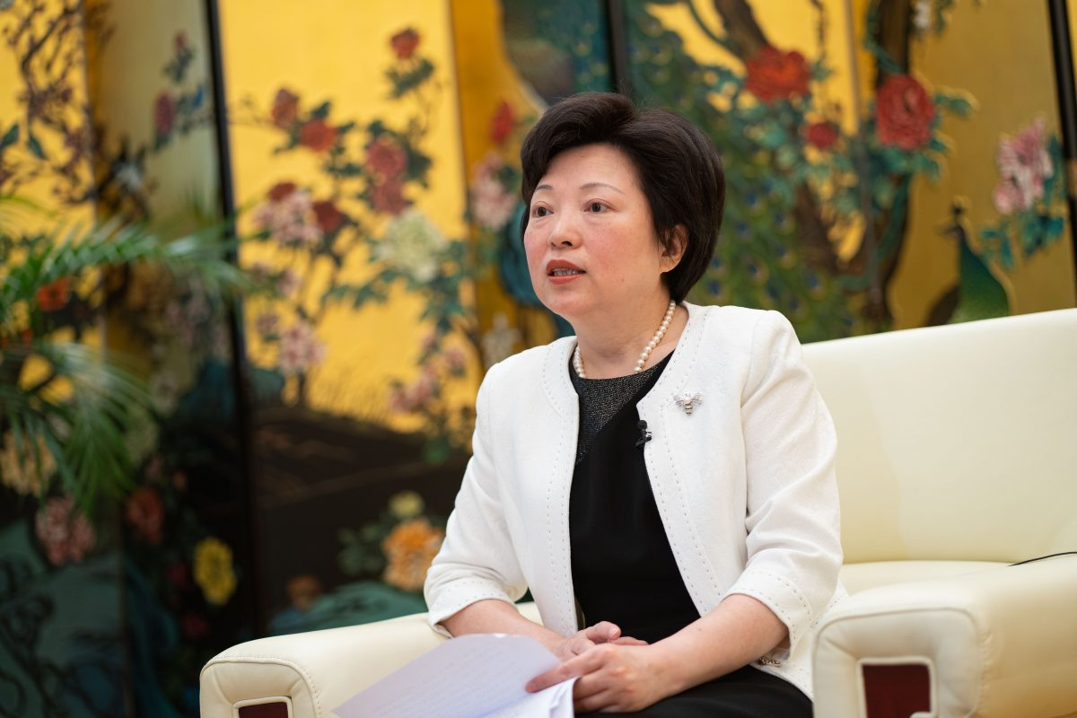 Shen promoted to vice-minister of International Department of CPC Central Committee