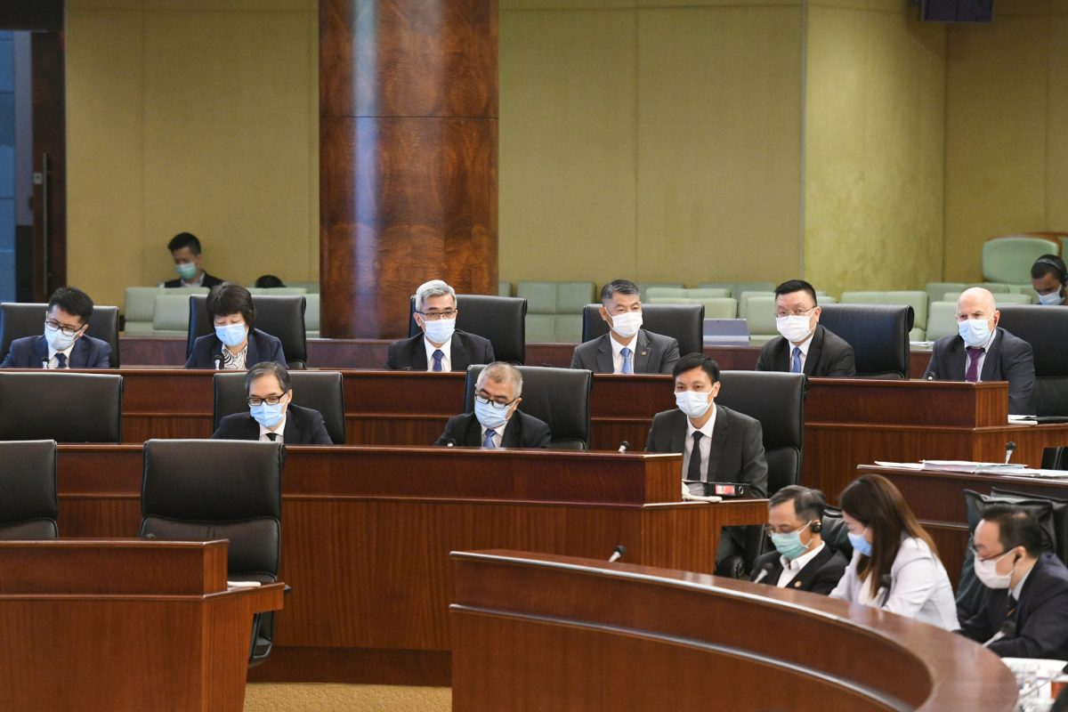 Lawmakers pass civil protection bill, but 4 oppose 'rumour' article