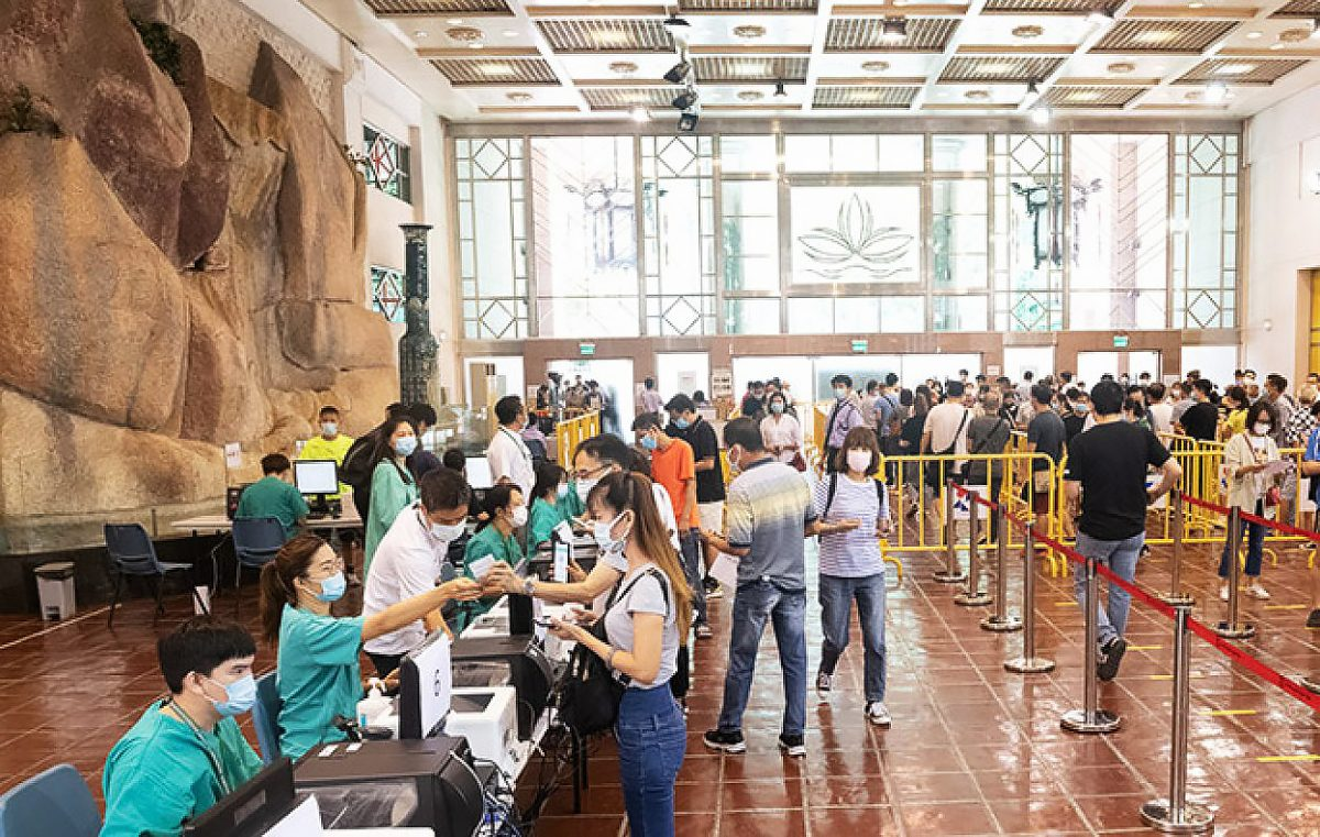 Macao's testing capacity rises to 23,000 per day
