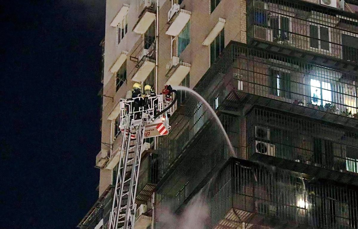 Blaze in residential high-rise brought under control in 30 minutes