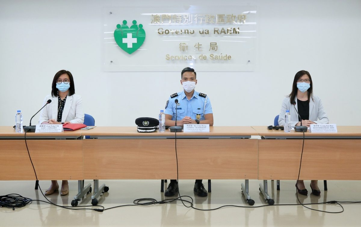 All residents can undergo COVID-19 tests at Macau Forum
