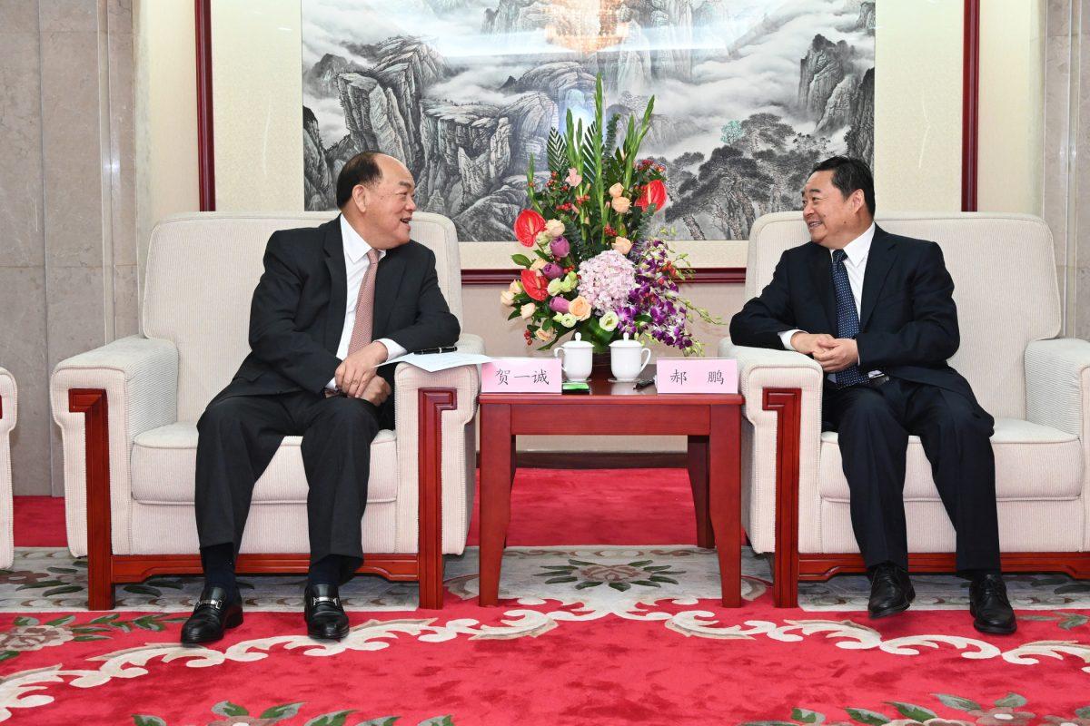 Ho discusses Macao's economic diversification drive in Beijing