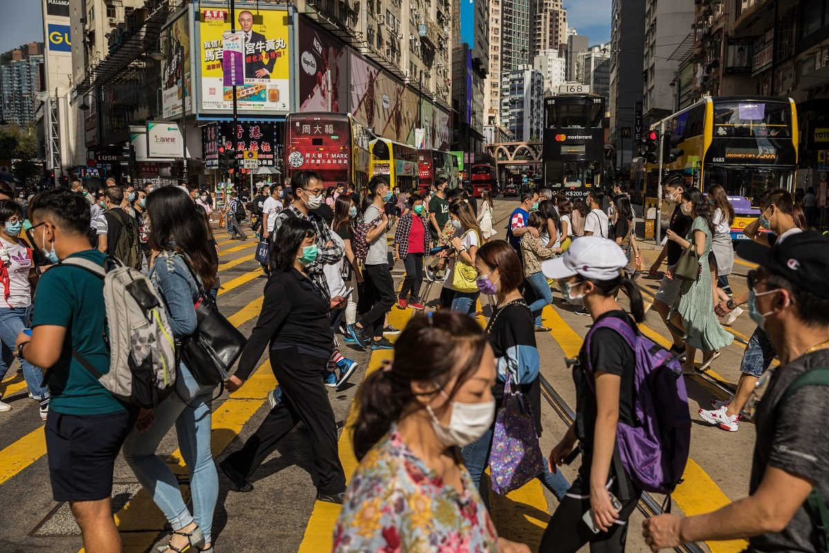 Hong Kong registers Monday  100 new cases of COVID-19