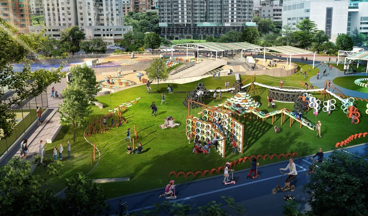 Government to build 19,000-square-metre park in centre of Taipa