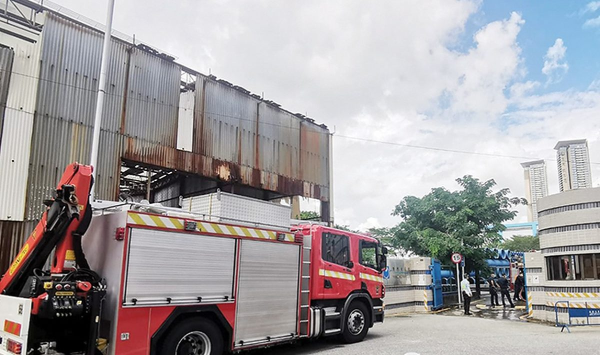 Electric fan probable cause of blaze at Macao Water plant