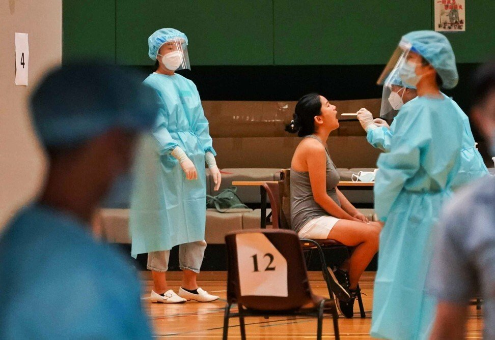 10,000 Hongkongers tested within two hours of COVID-19 screening launch