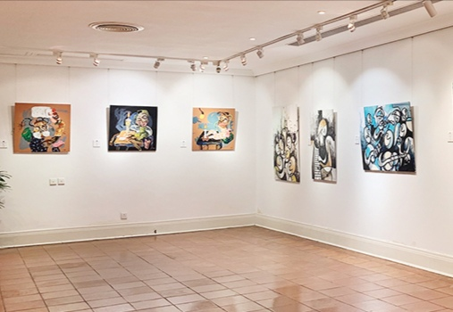 Portuguese-speaking painters showcase their creations