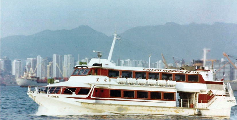 Hong Kong district council passes motion to request 'Flores' jetfoil preservation