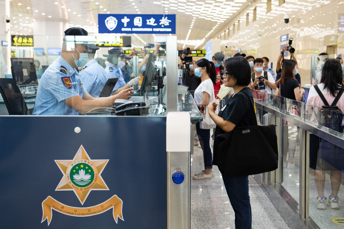 Golden Week visitors fall 87% in first 4 days