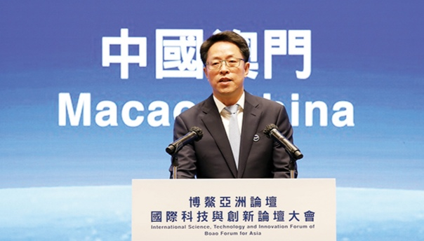 HK-Macao office vice chief raises 7 aspects for Macao's sci-tech innovation