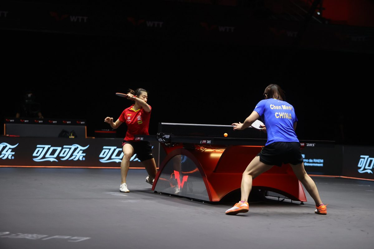 WTT 'Top 4 Battle' rounds off 1st day's play