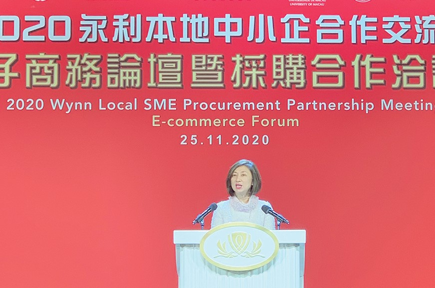 Wynn hosts e-commerce forum to support local SMEs