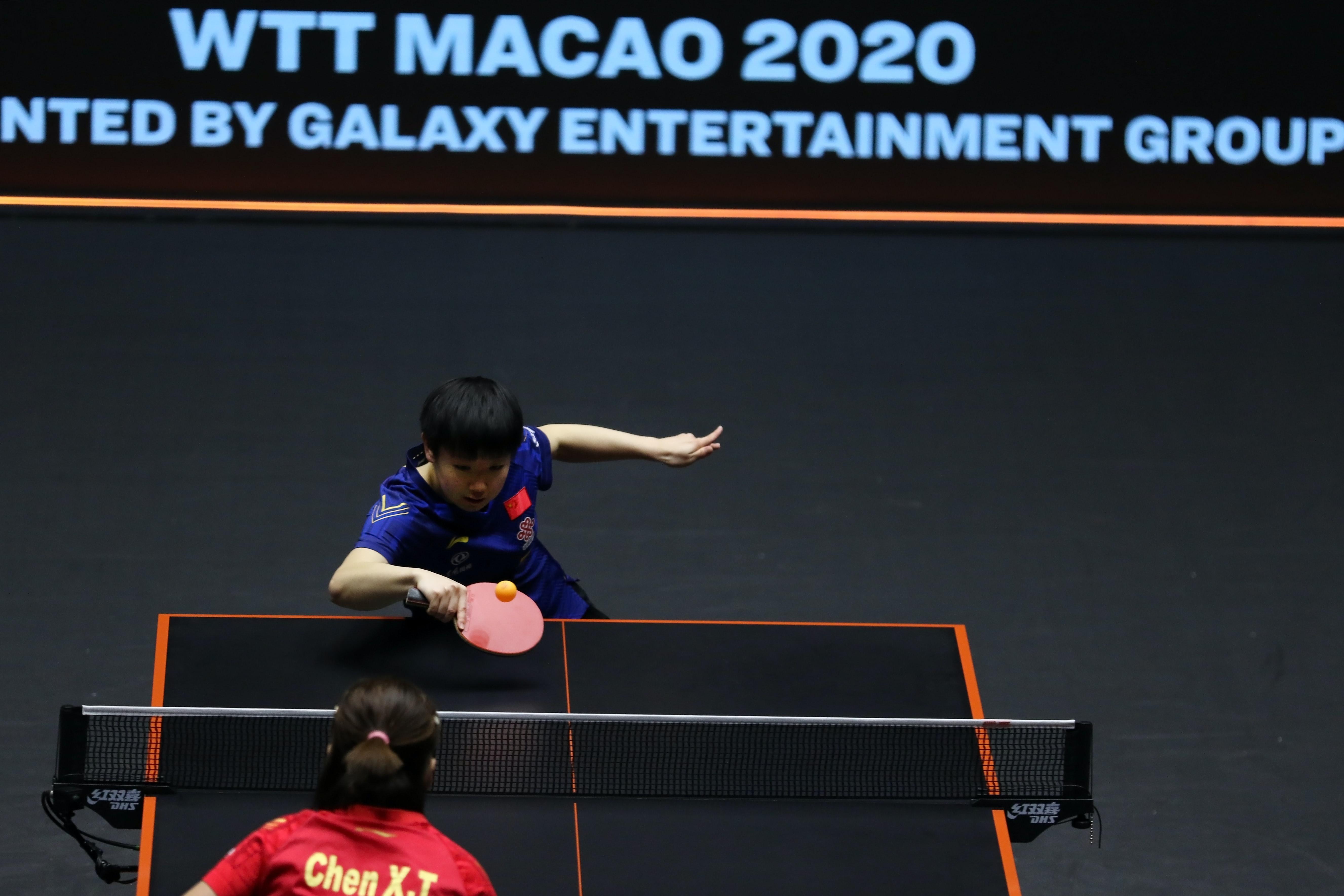 World Table Tennis winner Sun Yingsha