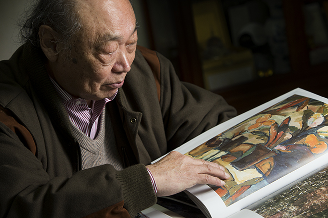 Artist Mio Pang Fei has died at the age of 84