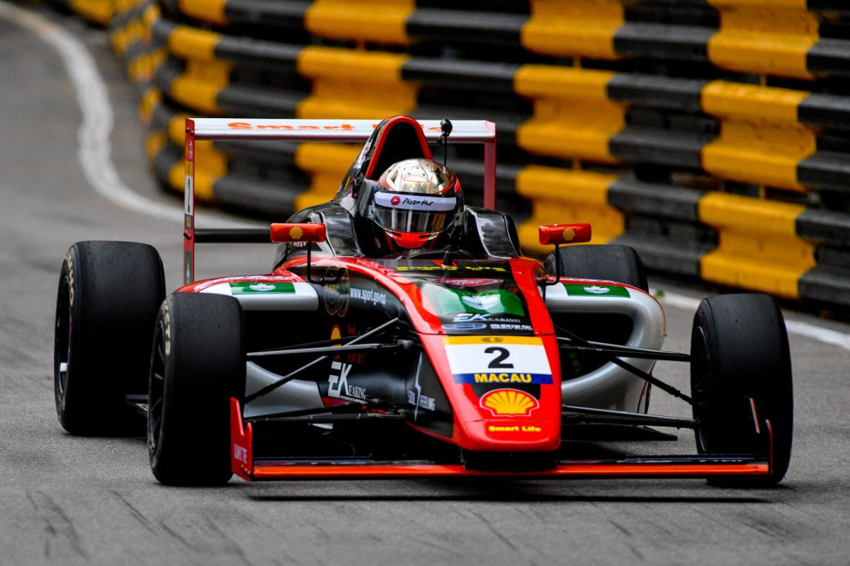 Local drivers shine at MGP F4 qualifying race