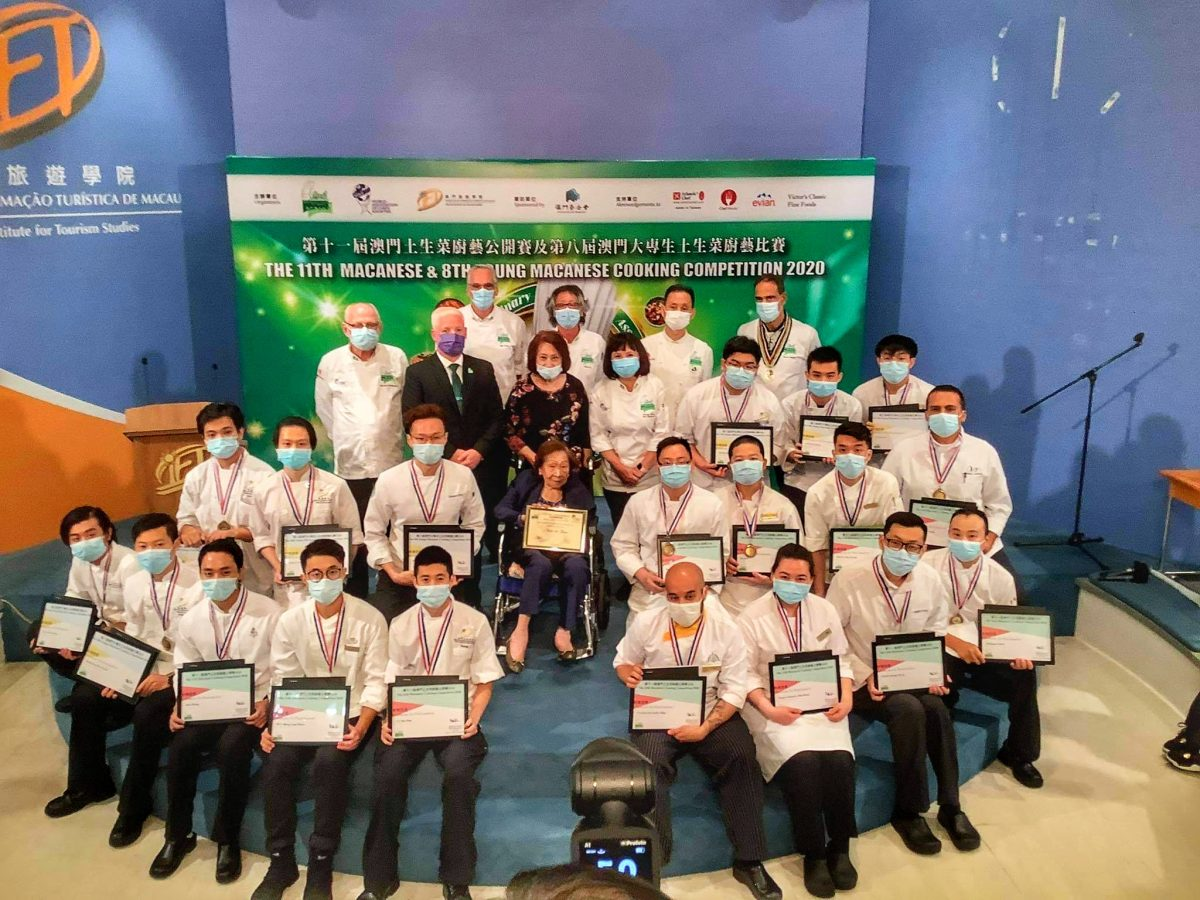 Wong Meng Kang wins 11th Macanese Cooking Competition