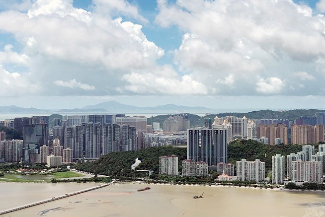 Photo by MPDG   Taken last August, showing the Taipa view from Penha Hill