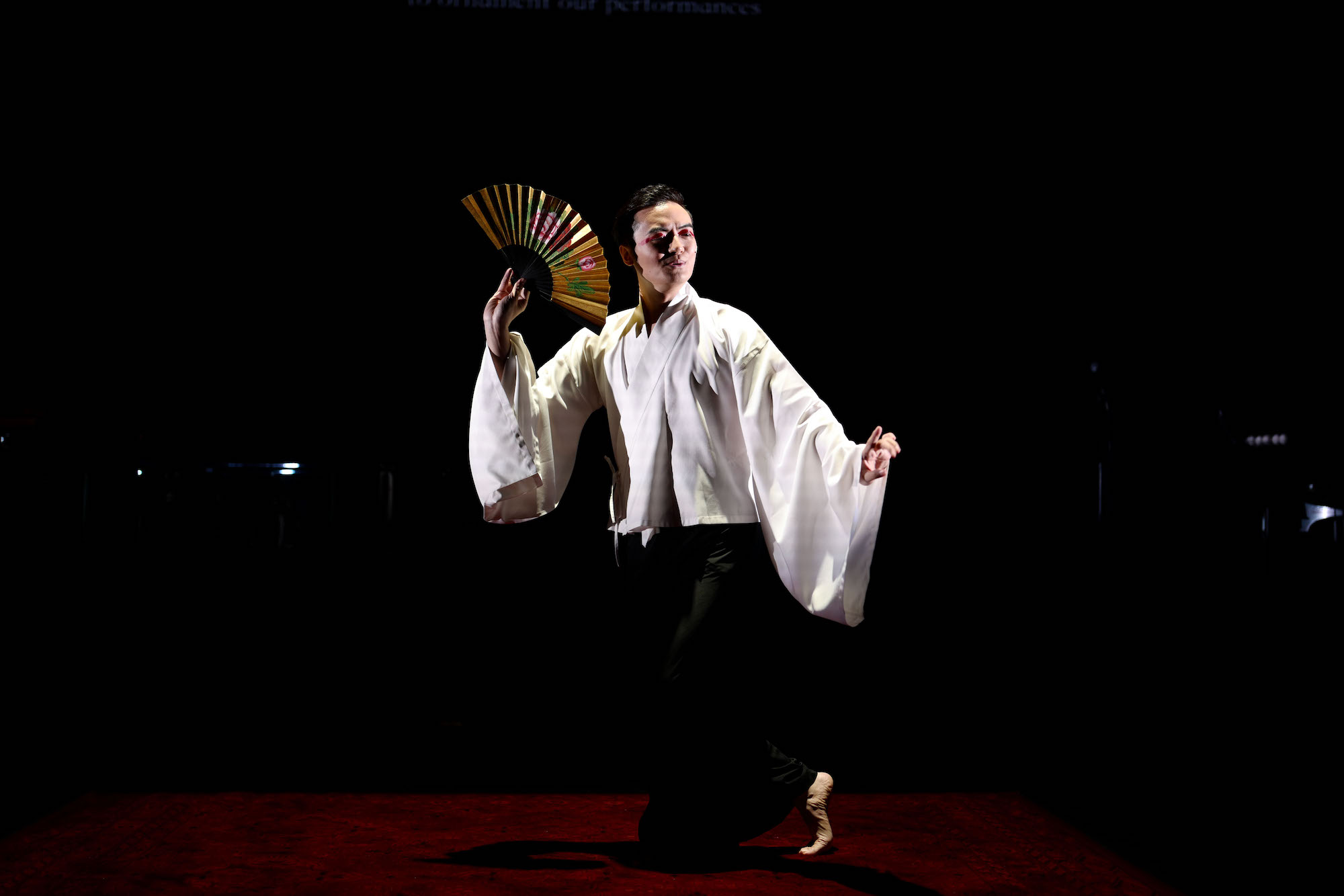 A production shot of Macau Experimental Theatre's award-winning 'Mr Shi and His Lover'丨Photo courtesy of Macau Experimental Theatre