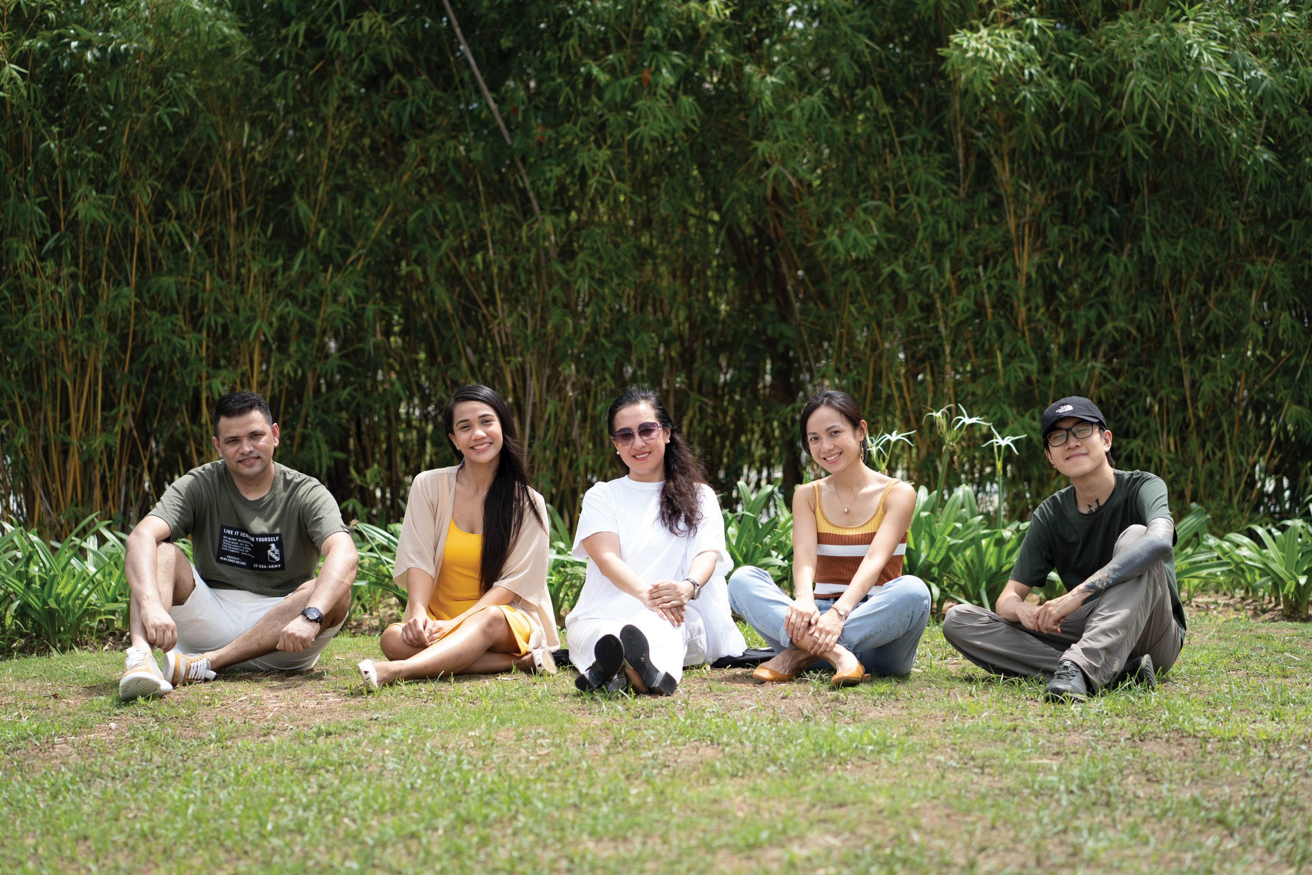 From left: Ram Bahadur Kutal Chhetri, Sheena Flor Tamayo, Ada Lo, Vivi Cheung and Delic Tang | Photo by Denzel Calangi