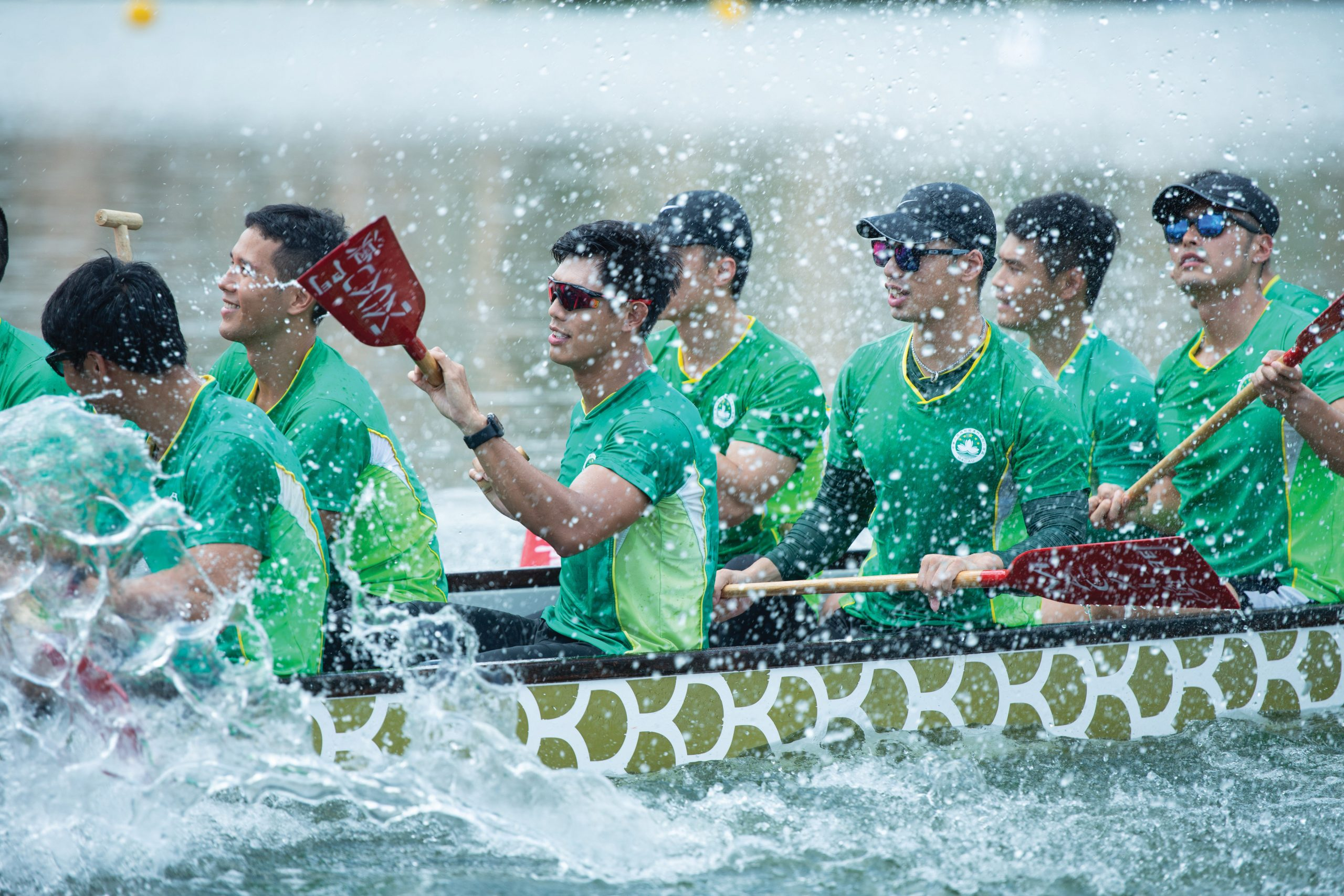 Dragon boat racing is one of the new additions to Macao's inventory of intangible heritage - Photo by António Sanmarful