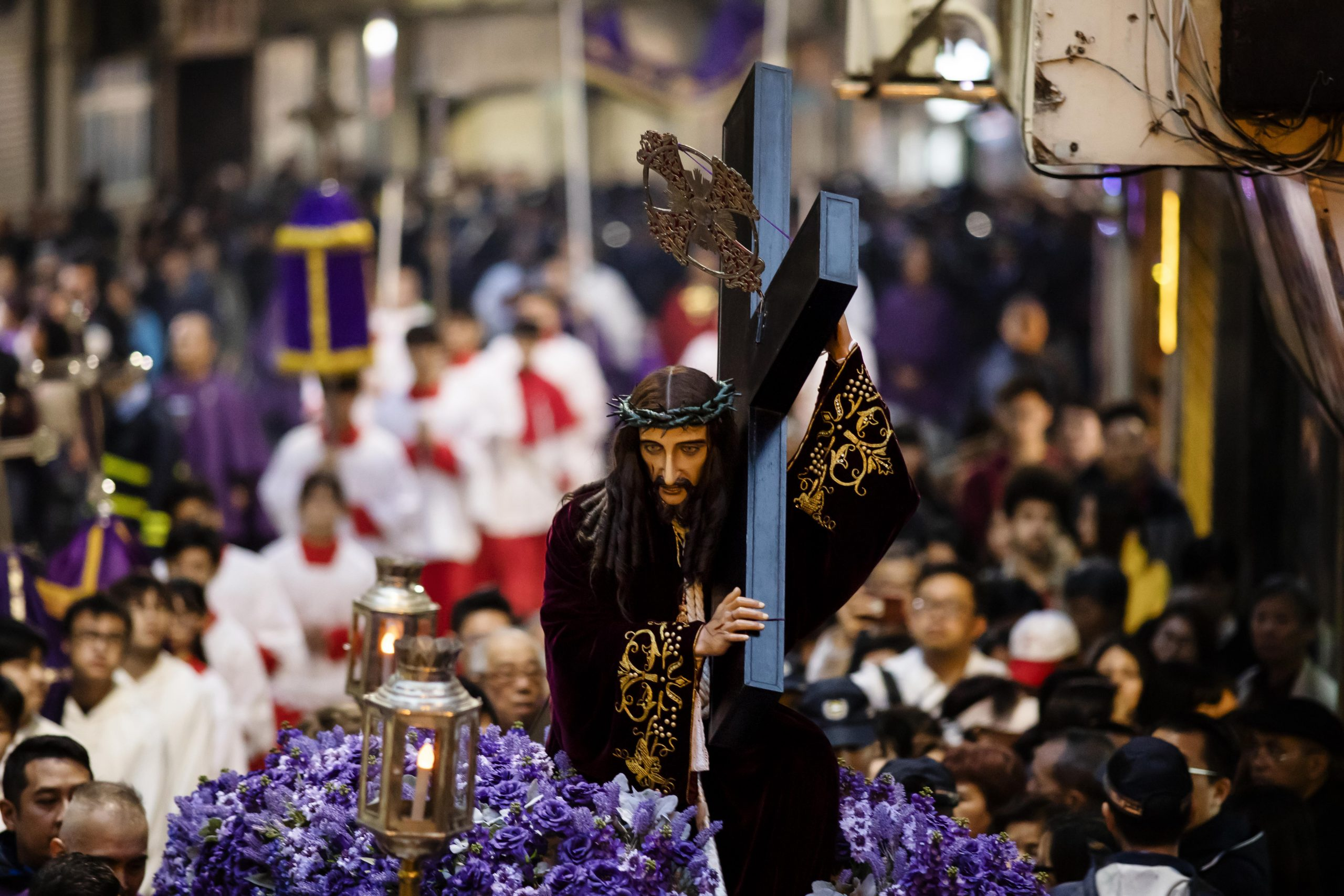 The Procession of the passion of our Lord, the God Jesus, has also been on the inventory for the past three years - Photo by Eduardo Martins