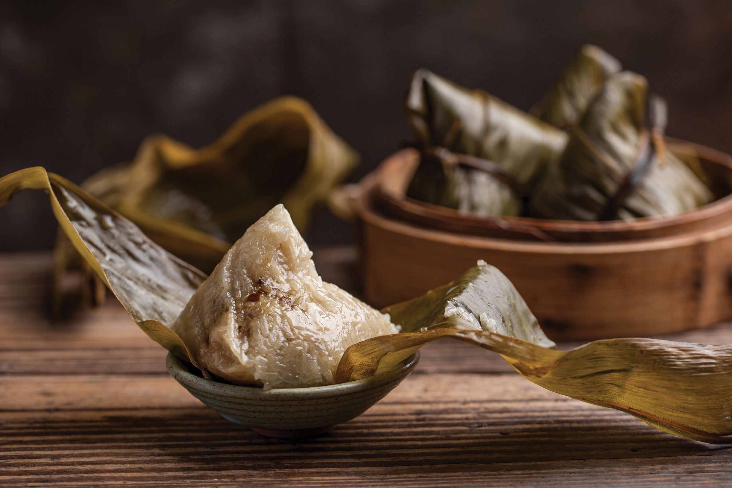 Rice dumplings are traditionally eaten during Tung Ng - Photo by Litchima