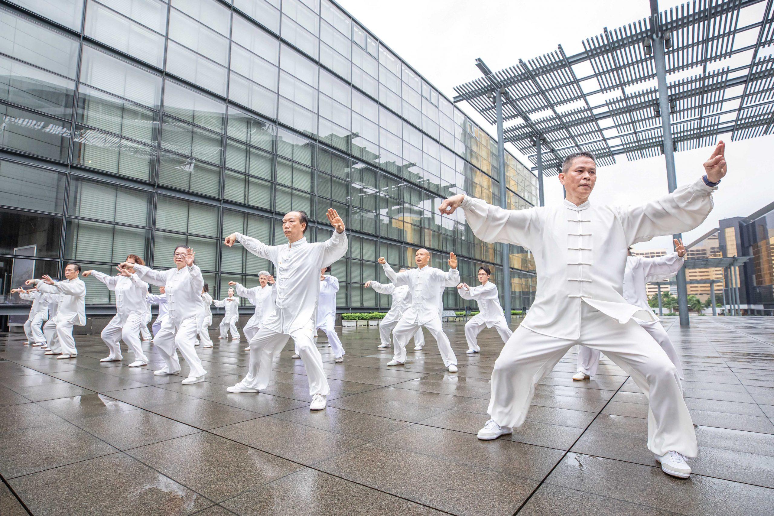 Tai Chi Martial Arts - Photo courtesy of the Cultural Affairs Bureau