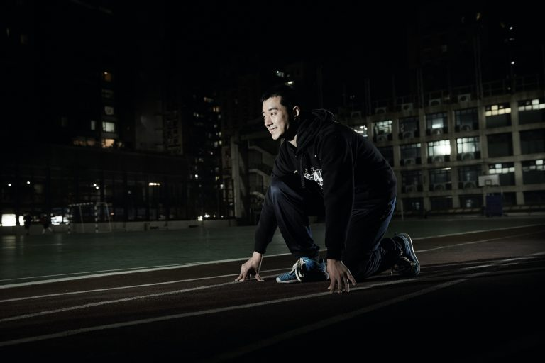 Macau Special Olympics' Track and Field player Wong Kin Hong - Photo by António Sanmarful