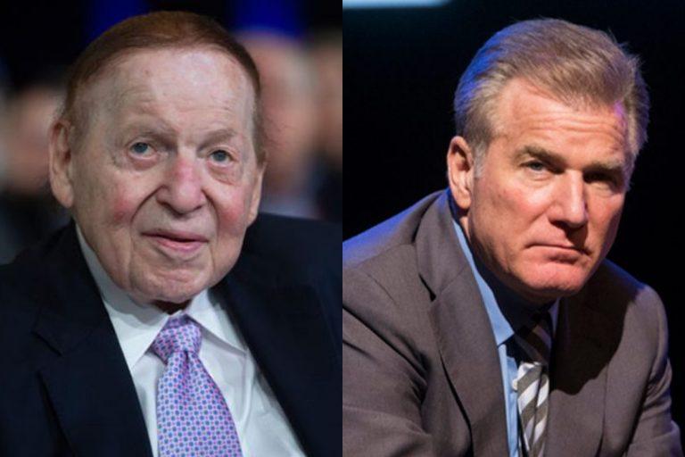 Sheldon Adelson non-Hodgkin's lymphoma