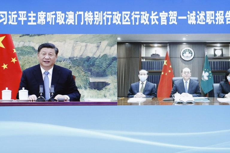 Xi Jinping Macao