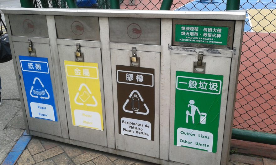 recycling rate Macao