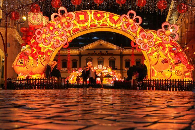 Golden Week visitors Macao
