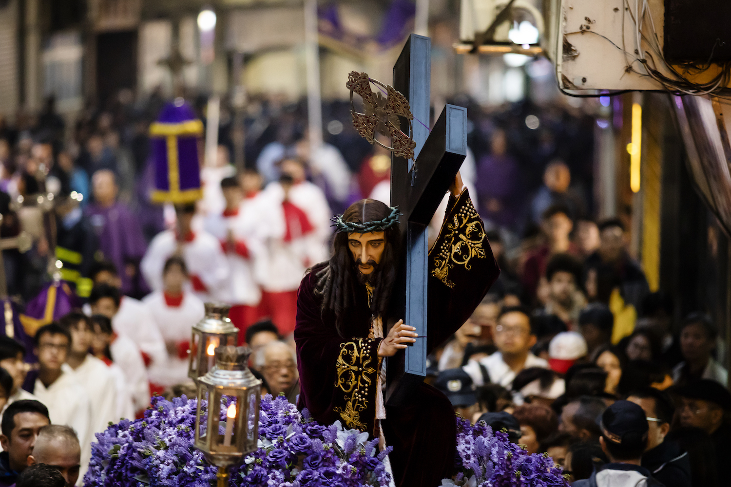 Passion Lord Procession Macao