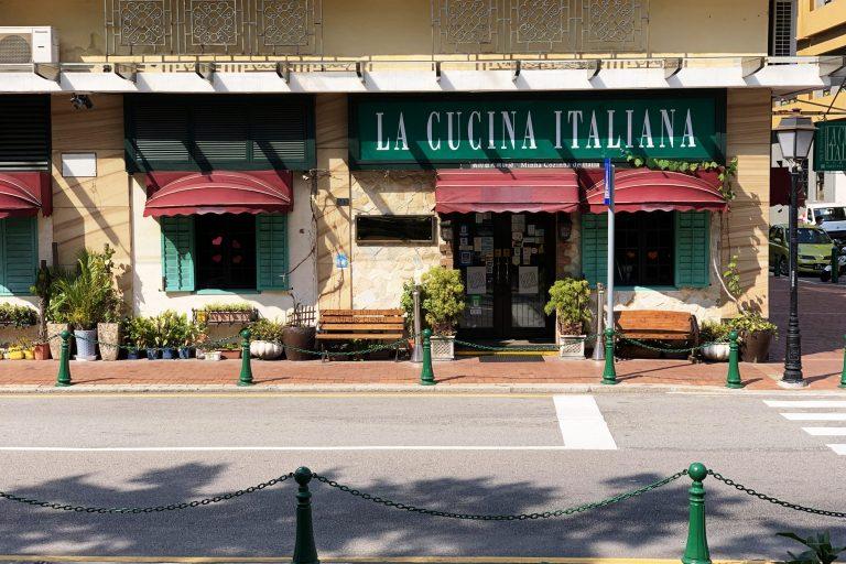 La Cucina Italiana, Italian restaurants Macao