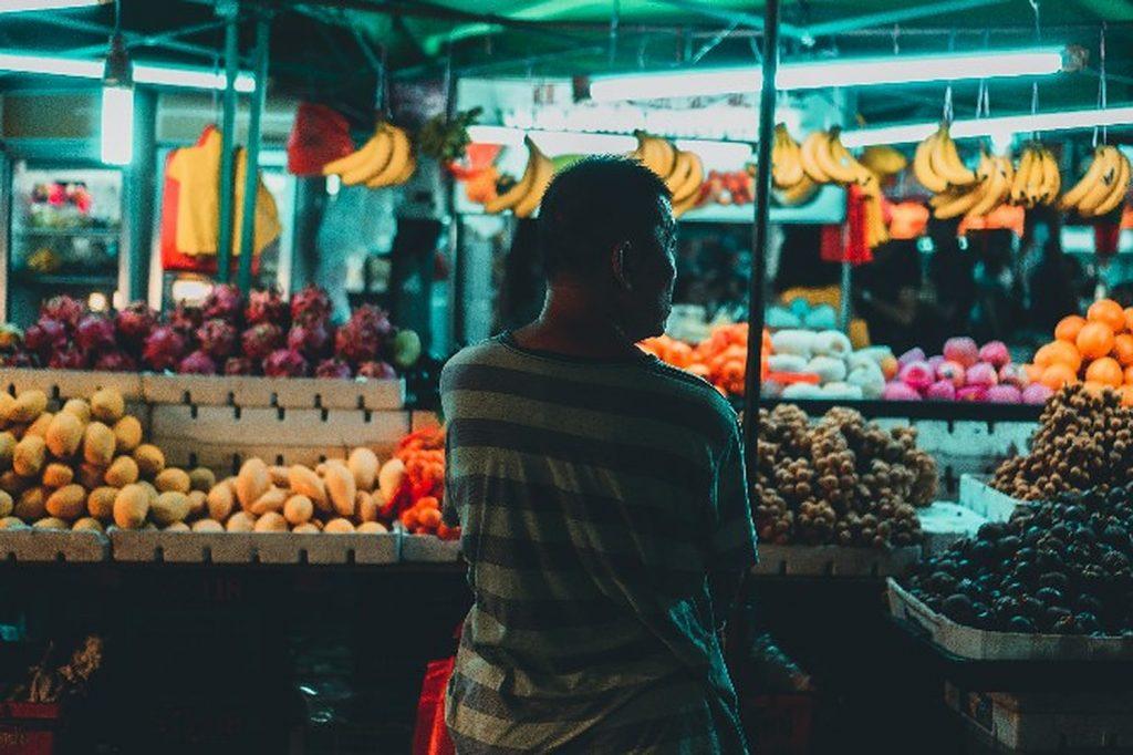 street vendors Macao