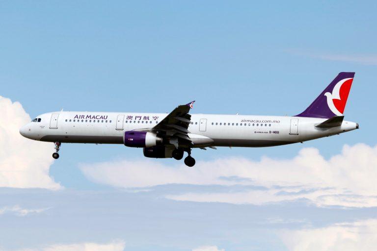 Air China planes Air Macau