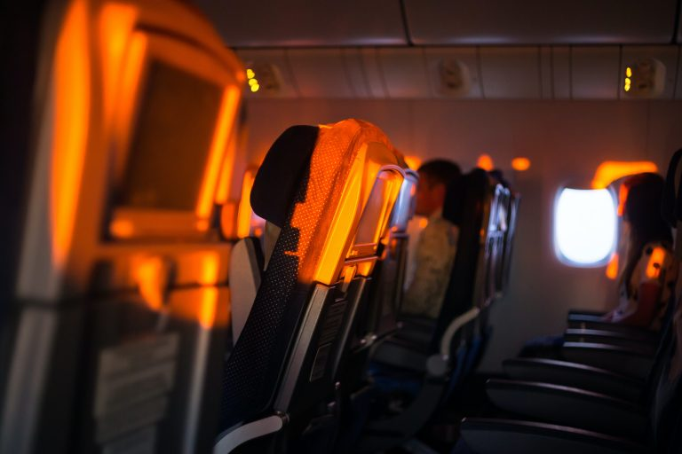 Empty plane