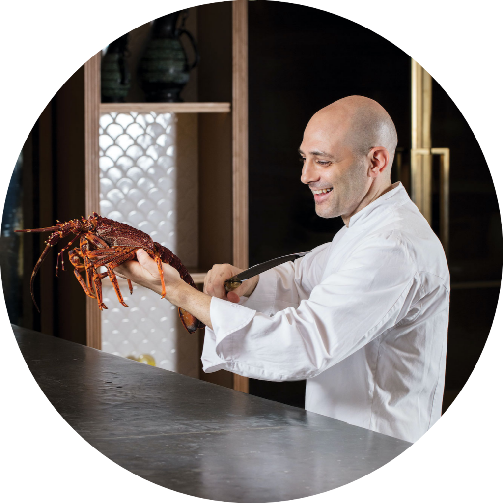 The Manor's Executive Sous Chef Michele Dell'Aquila