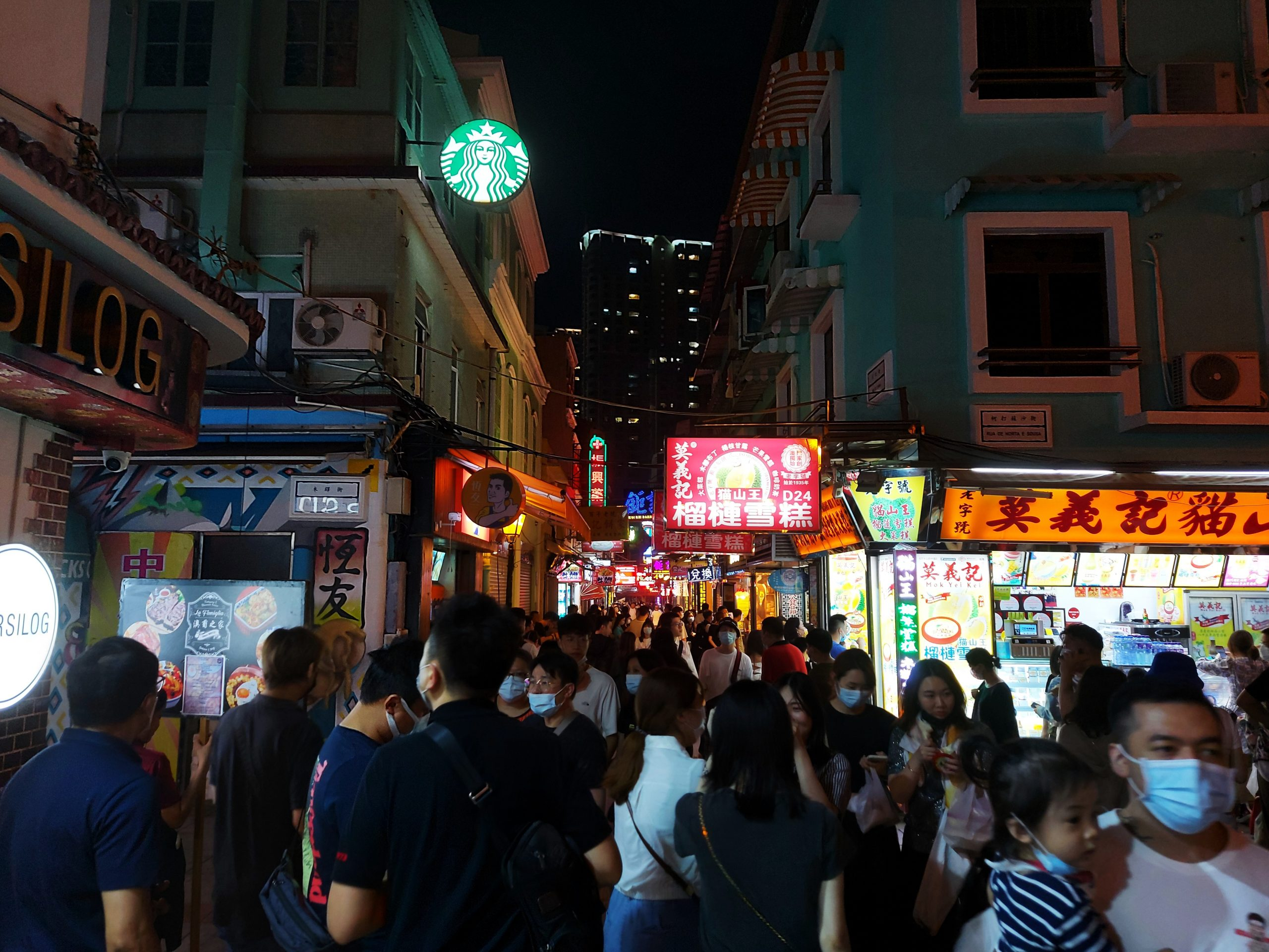 Macau visitors
