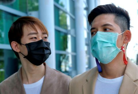 Taiwanese-Macao gay couple