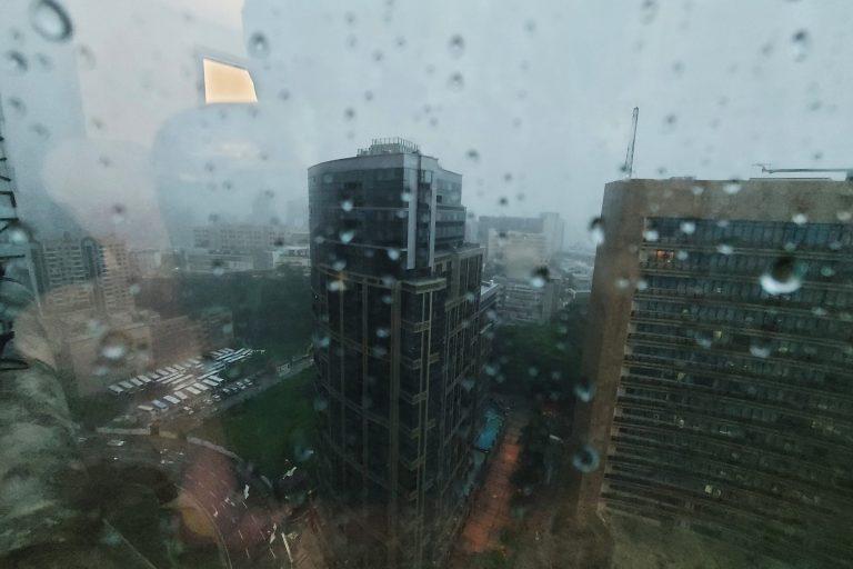 heavy rain Macau