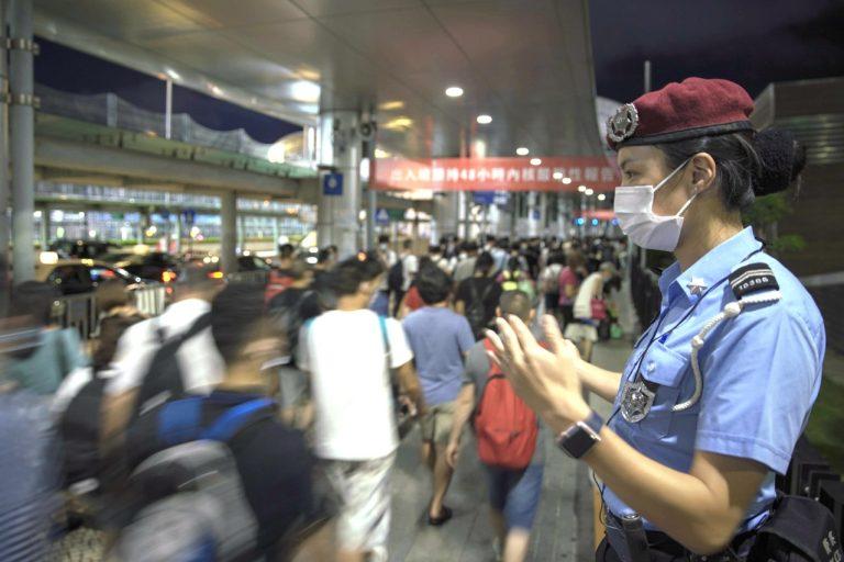 Macau border control