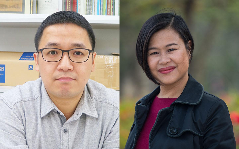Ron Lam U Tou and Agnes Lam Iok Fong