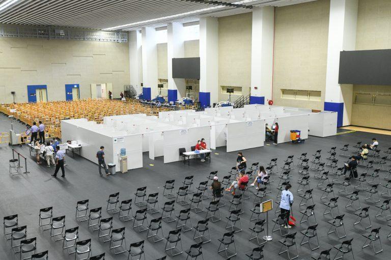 Mong Ha Sports Centre as Covid-19 vaccination facility