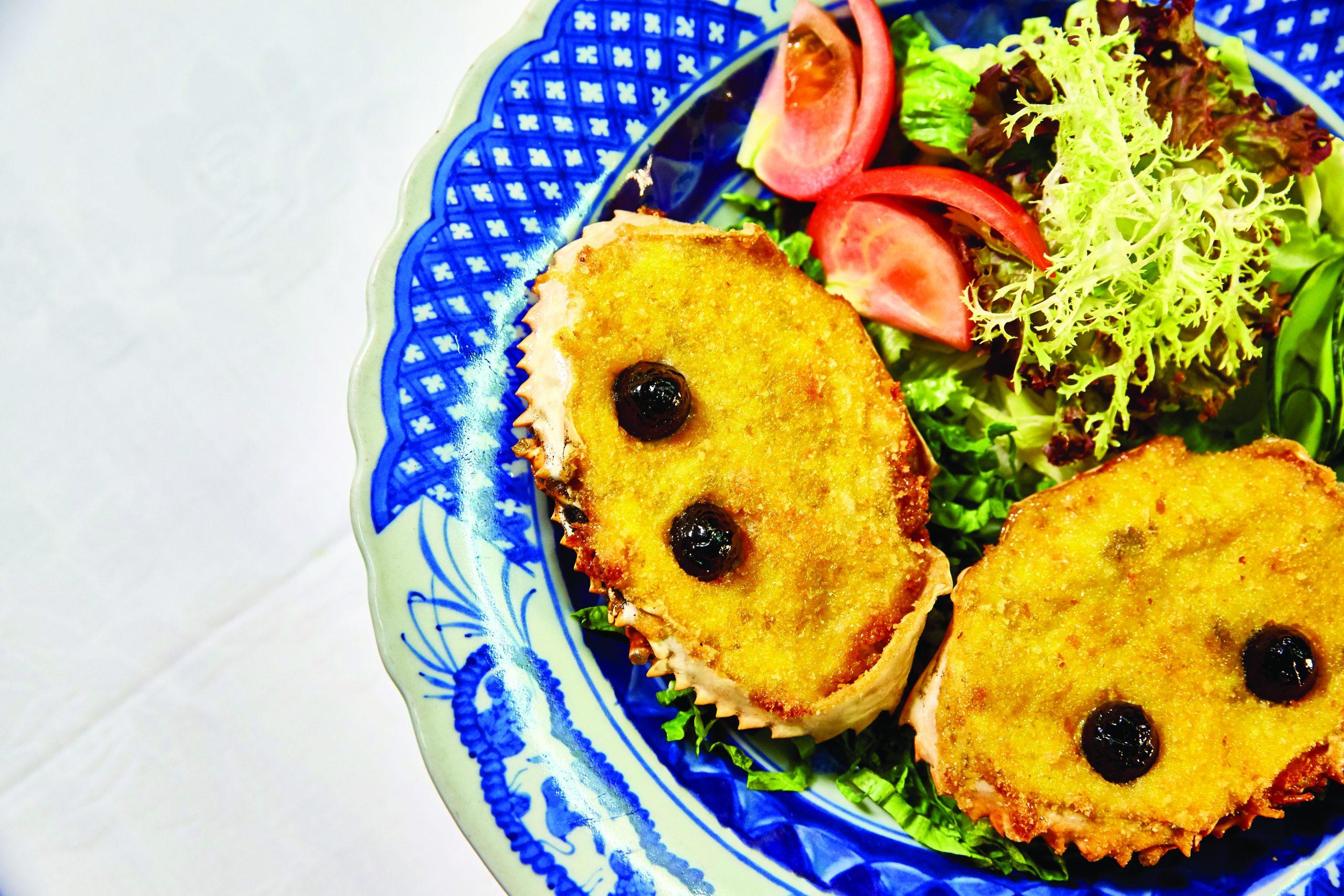 Macanese crab cakes