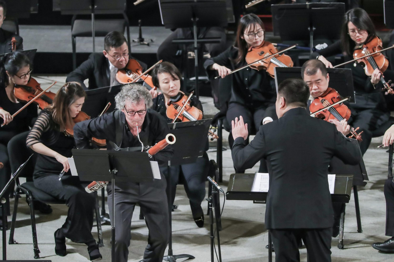 Azzolini and Lu Jia in 2019