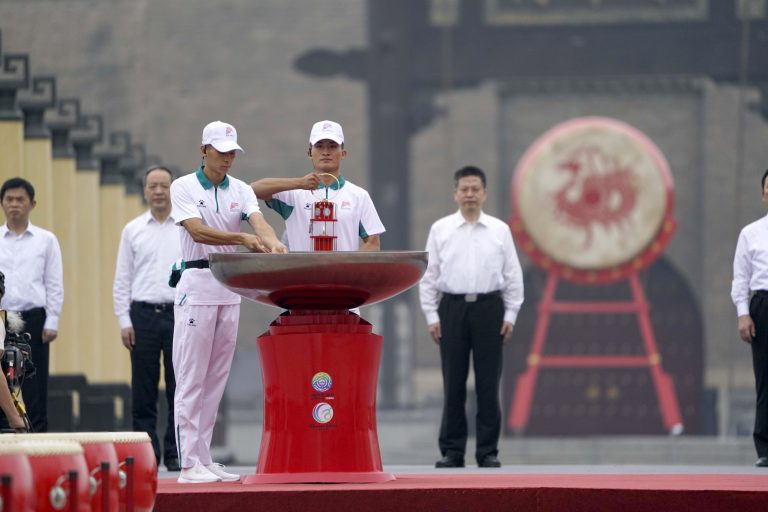 14th National Games torch relay