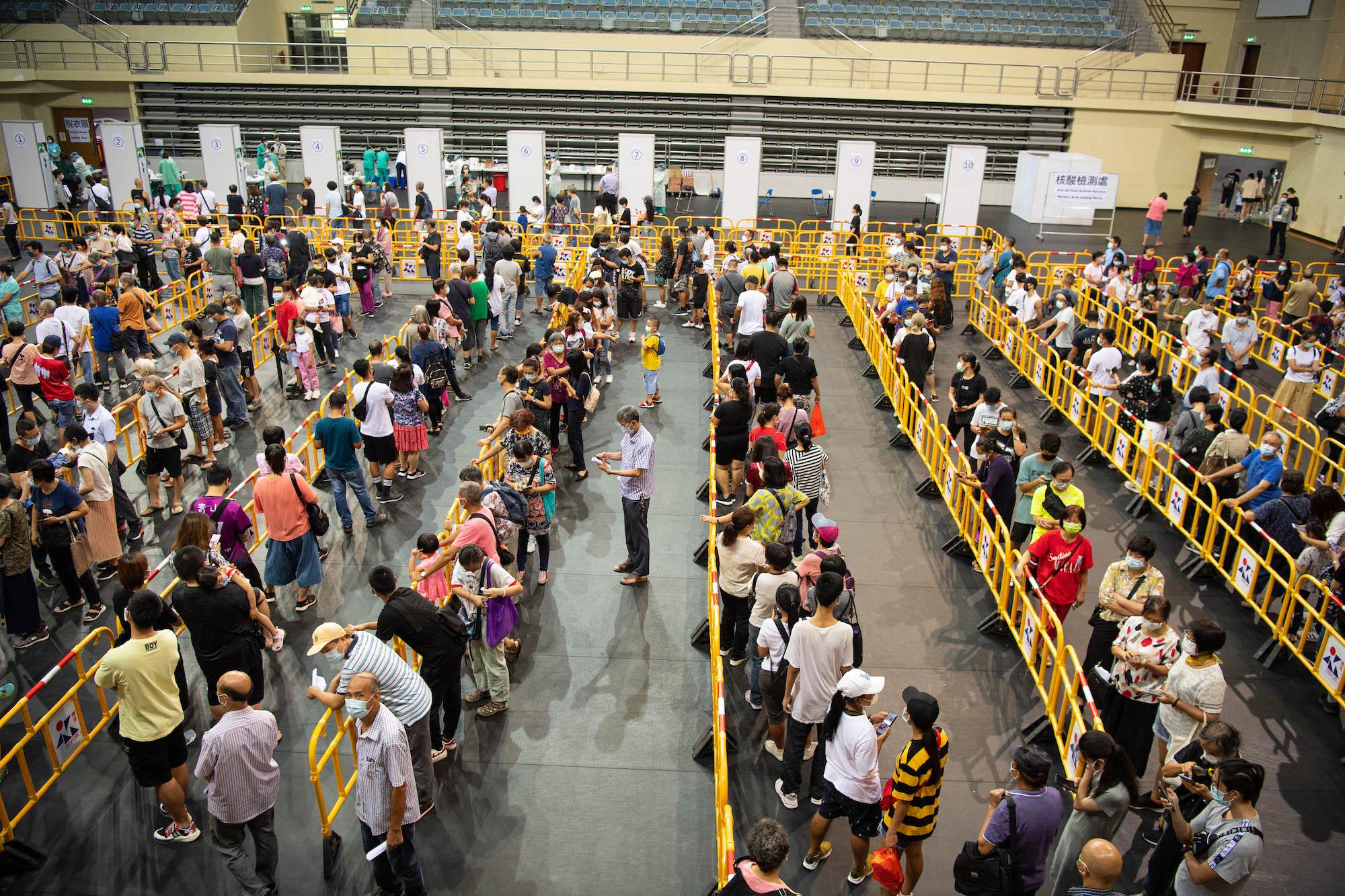 Macau mass NAT